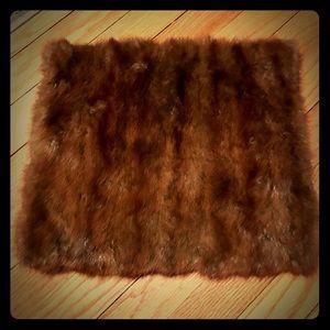 Handbags - Fur clutch handbag / muff (vintage)